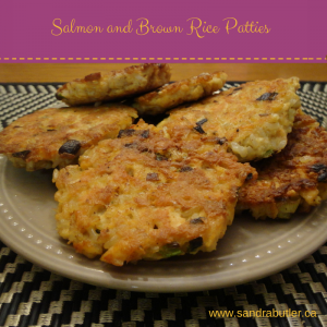 Salmon and Brown Rice Patties