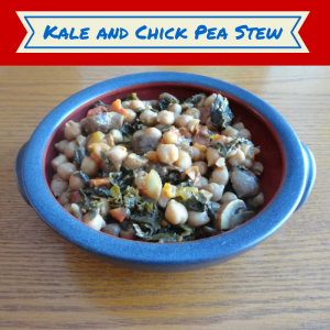 Kale and Chick Pea Stew