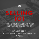 Bonus Selling Step