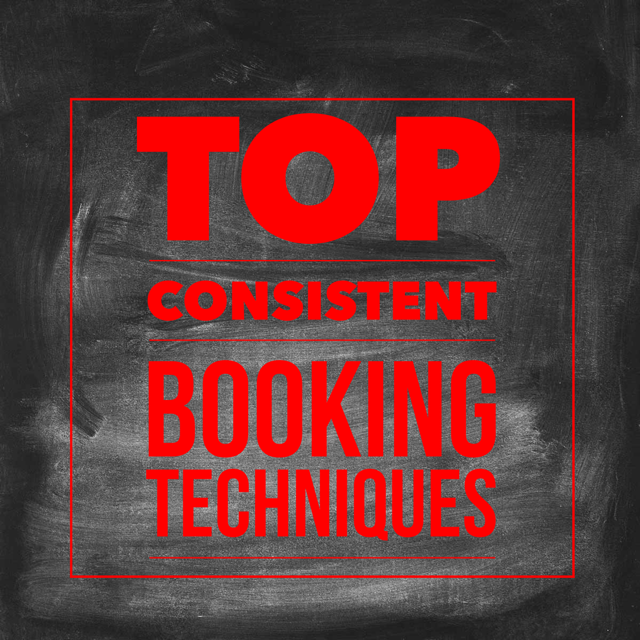 Top Consistent Booking Techniques