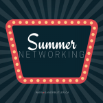 Summer Networking: What to do NOW if you're not going to conference!